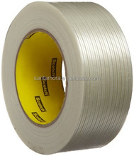 Synthetic Rubber Economy Filament Reinforced Strapping Tape with Polypropylene Backing