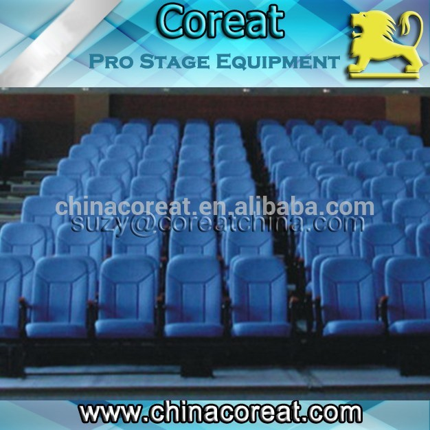Automatic Telescopic Retractable Multiple Use Bleacher Seating