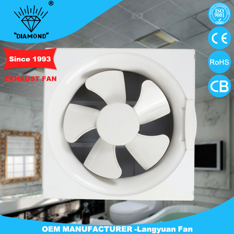 2016 Cheap wall mounted bathroom exhaust fan price with high rpm