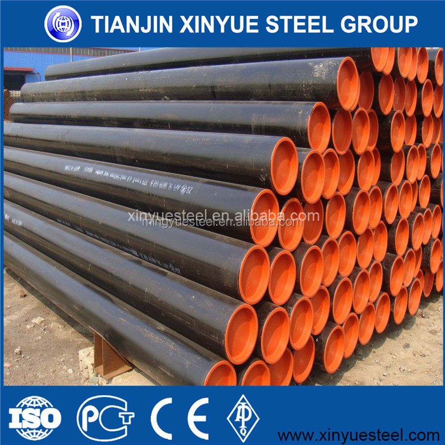 API 5L Gr.B,X42,X46,X52,X56,X60 PSL1 ERW Carbon Steel Welded Pipe For Oil And Gas Transmission