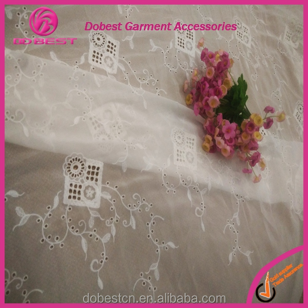 Fashion Dubai french lace fabric bestway voile lace manufacturer in China