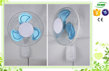 9'' wall mounted electric fans parts metal 360 degrees wall fan