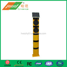 Construction to protect led traffic signal post