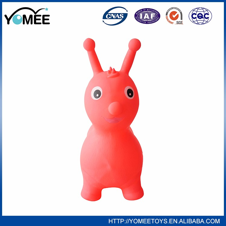 Hot Sale Customised Funny Handle Hopper Animal Ball