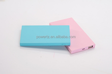 Ultra Thin Slim 4000mah powerbank, portable power bank for Mobile phone