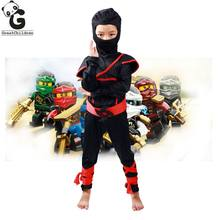 Legos Ninja cosplay Costumes Halloween Christmas Clothes Fancy Party Dress Up Boys Costumes
