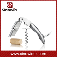 2016 New arrival metal can and bottle opener wine corkscrew