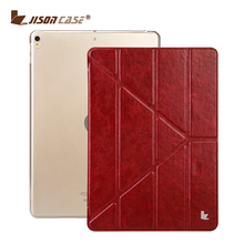 "Soft TPU Silicone Bottom Smart Case For Ipad Pro 10.5"" Stand PU Leather Cover 5 Shapes"