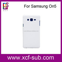 For Samsung Galaxy On 5 for On7 Heat Press Printing Blank Cover, Sublimation 3D Case for Samsung