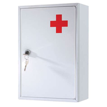 Waterproof Mini Wall Medicine Storage Cabinet Metal First-Aid Kit For Home
