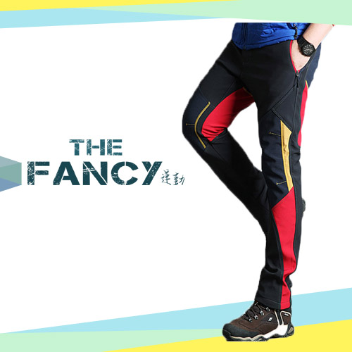 Hot selling Euro standard quality sport type women windproof and warm-keeping winter climbing pants