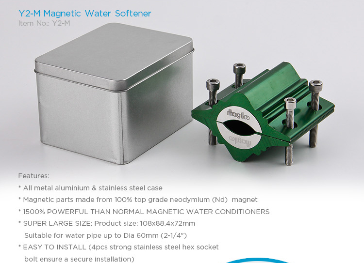 APOLLO-M Household Kitchen Magnetic Water Softener from Dailymag