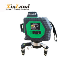 8 lines green rotary level laser
