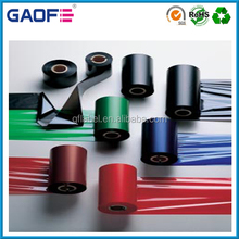 Thermal transfer resin ribbon washable barcode Printer Ribbon for Garment Care Labels