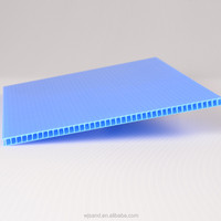 high quality blue conductive corrugated plastic board in China