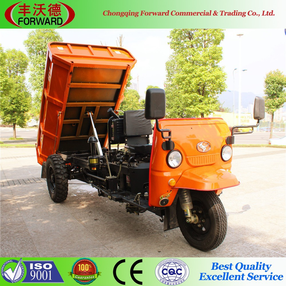 2017 hot sale diesel tricycle for mining and building