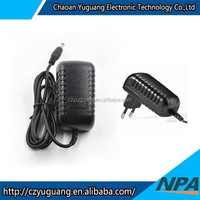 Factory directly ac adapter 12v 2A, 25W power supply 12v CE, ROHS, CCC approval AP-2412AE