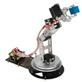 6 DOF Robotic Arm with Arduino UNO Rev3 Controller System Electric Educational Robot Arm