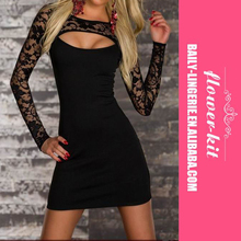 Hot Fashion 2017 Women New Sexy Cut-out Bodycon Dress