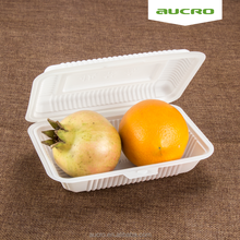 Eco Friendly Compostable Disposable pp Food Container Lunch Bento Boxes Wholesale