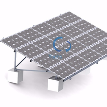 1MW Solar Power Plant Ground Pile Ground Mounted Structure