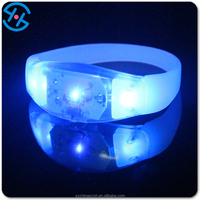 led light up silicone glow china wholesale new items, 2016 factory price led accessories bangle bracelet