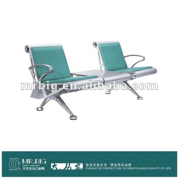2-seater stylish airport chair waiting area , MR812