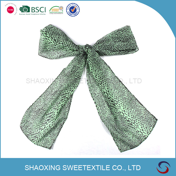 Professional Manufacturer Supplier Chiffon Scarf Custom Printed Scarve