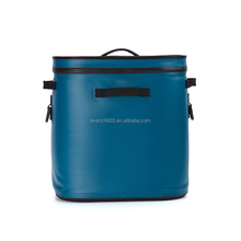 2017 Outside Waterproof TPU Zipper Portable Hopper Cooler Bag For Camping
