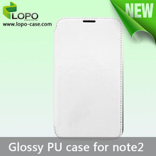 Sublimation leather case for Samsung Galaxy Note2