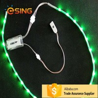 cheap quality chargeable color usb led light flashing lights for shoes