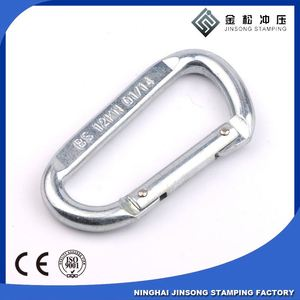 Hot sale! high quality! bag carabiner hook with eyelet and screw