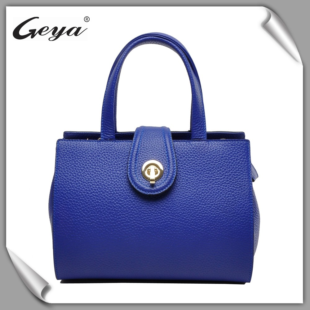 China wholesale beautiful lady handbag for trade show