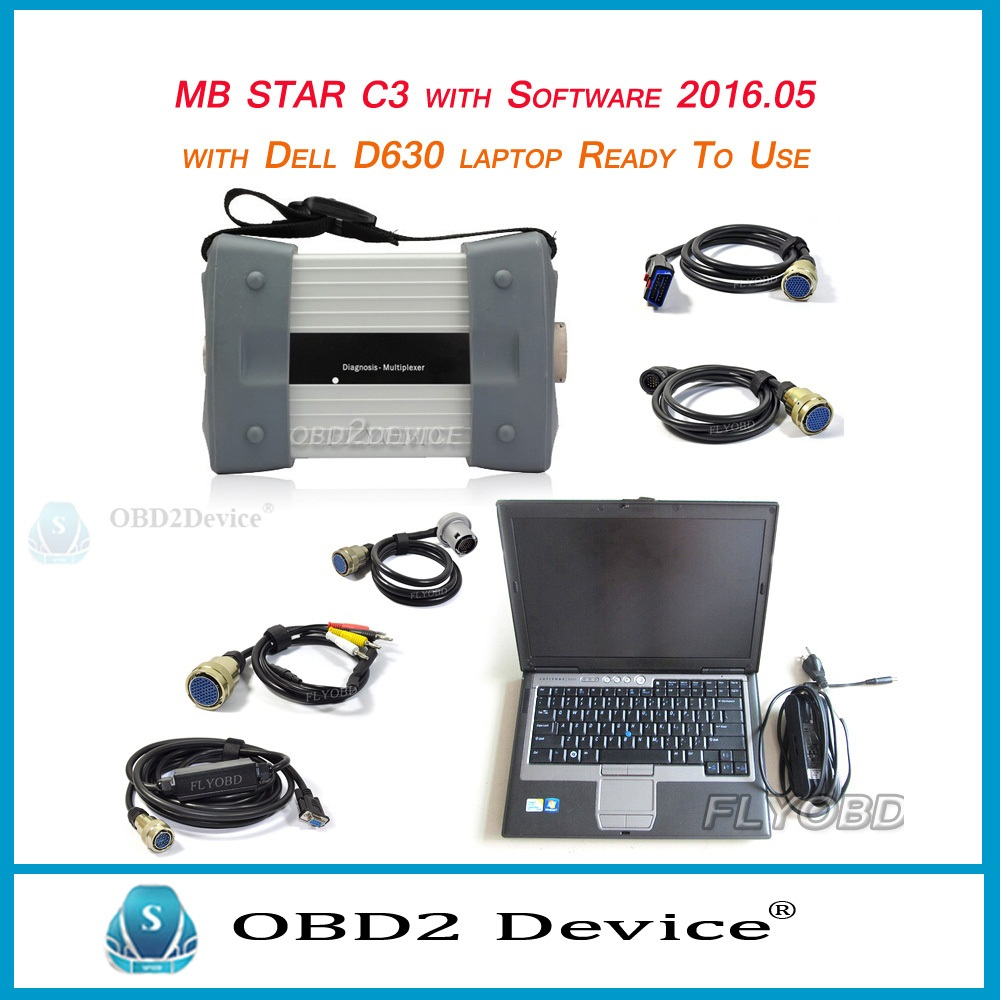 Original MB star C3 car diagnostic tool/ mb star C3 for vehicles with 5 cables