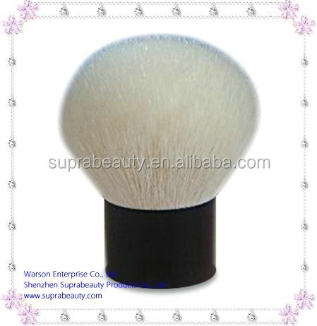 Top quality goat hair custom kabuki makeup brushes