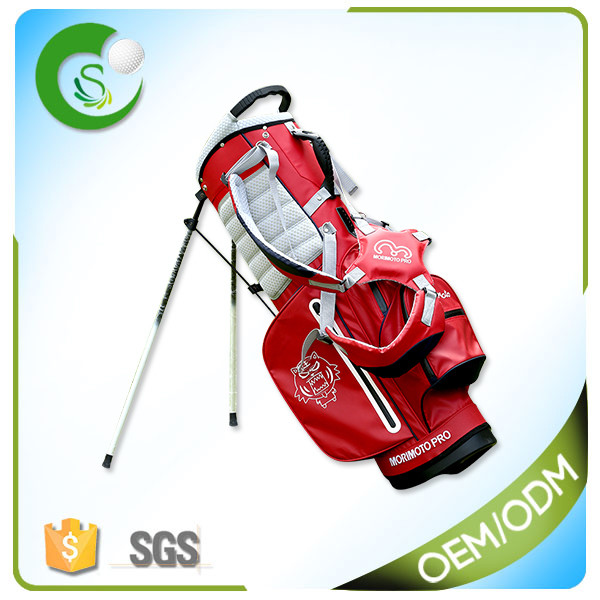 2017 OEM/ODM Waterproof Custom Golf Bag Nylon Golf Stand Bag With Factory Price