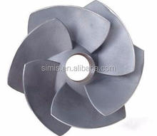 K418 superalloy vacuum casting turbine wheel