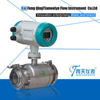 ISO approval clean milk flowmeter electro magnetic type