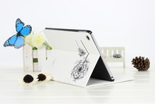 For leather ipad case 2015,Wholesale price leathear case dandelion for ipad 234