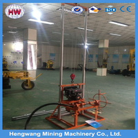 80m Deep Portable Small Water Well Bore Hole Well Drilling Machine Price
