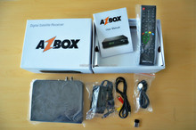 new hd digital satellite receiver azbox bravissimo with iks+sks+twin tuner