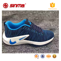 2017 new sneaker men sport shoes, breathable lace-up running shoes wholesale cheap name brand shoes for men