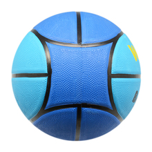 Deep Line 10 Panels Wholesale Rubber Basketball with Your Logo