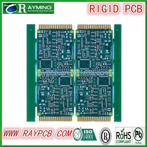2-layer Mobile Phone PCBs with Immersion Gold and Blue Solder Mask Features