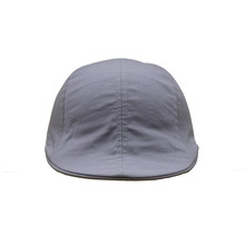 Cheap Micro Fibre Plain Men Caps Grey Ivy Cap