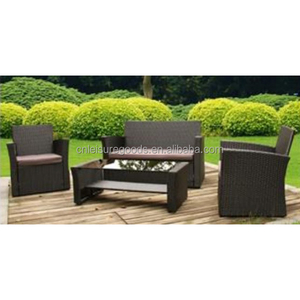 Modern PE rattan wicker furniture sofa set