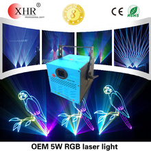 Text laser show projectors 5w rgb dj laser light price