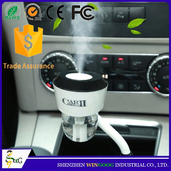 New Arrival 2 USB Port Fragrance Car Humidifier USB Aroma Diffuser
