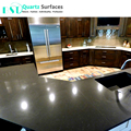 Brown-based Artificial Quartz Stone Dining Table Top