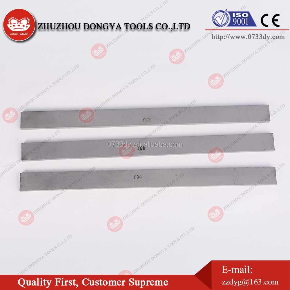 K10 K20 tungsten carbide strips/bar/cemented carbide flat for wood working